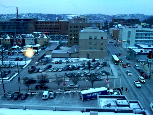 View from Wyndham Hotel