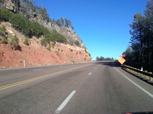Highway 260 in Arizona