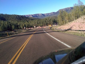 From Payson to Heber, Arizona