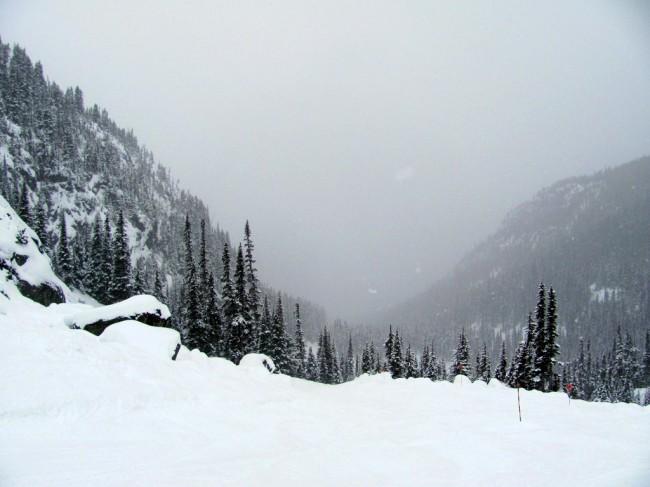 Exiting Blackcomb Glacier