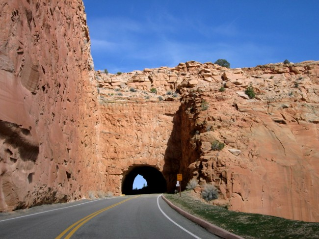 Tunnel Entrance, Colorado National Monument