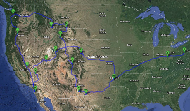 2014 Road Trip