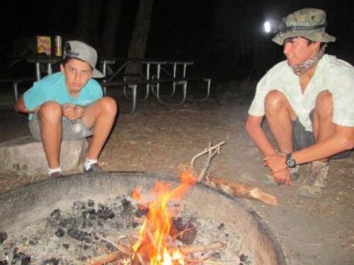 Wyoming-Camping