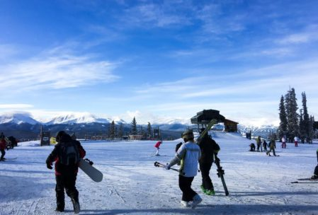 Top of the first at Keystone.