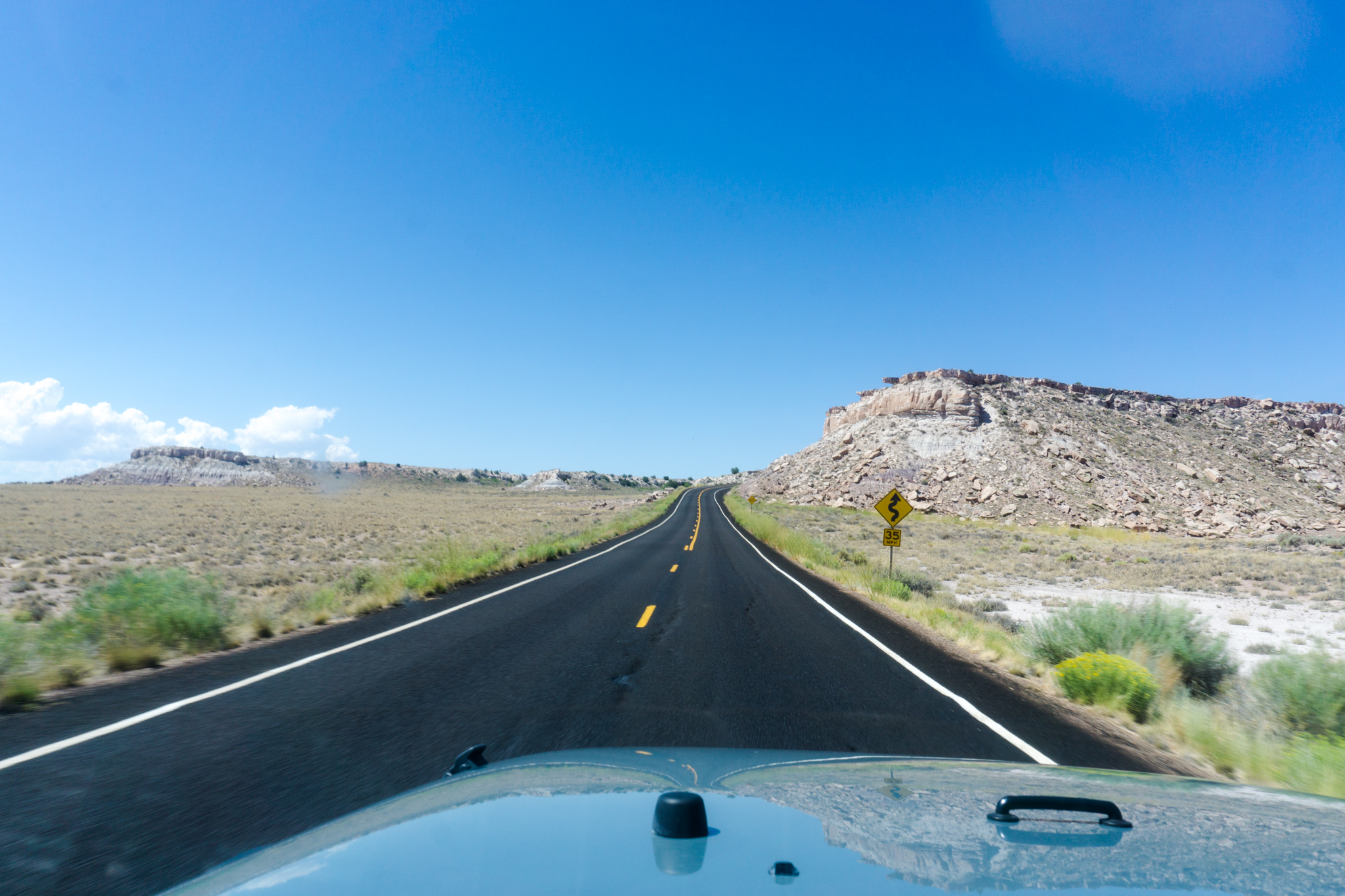 Petrified Forest National Park Road