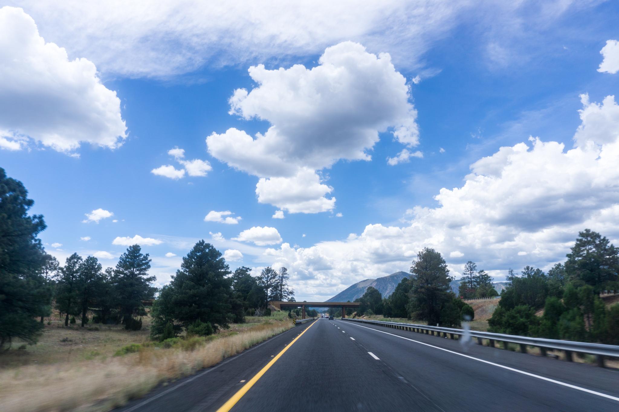 Nearing Flagstaff.