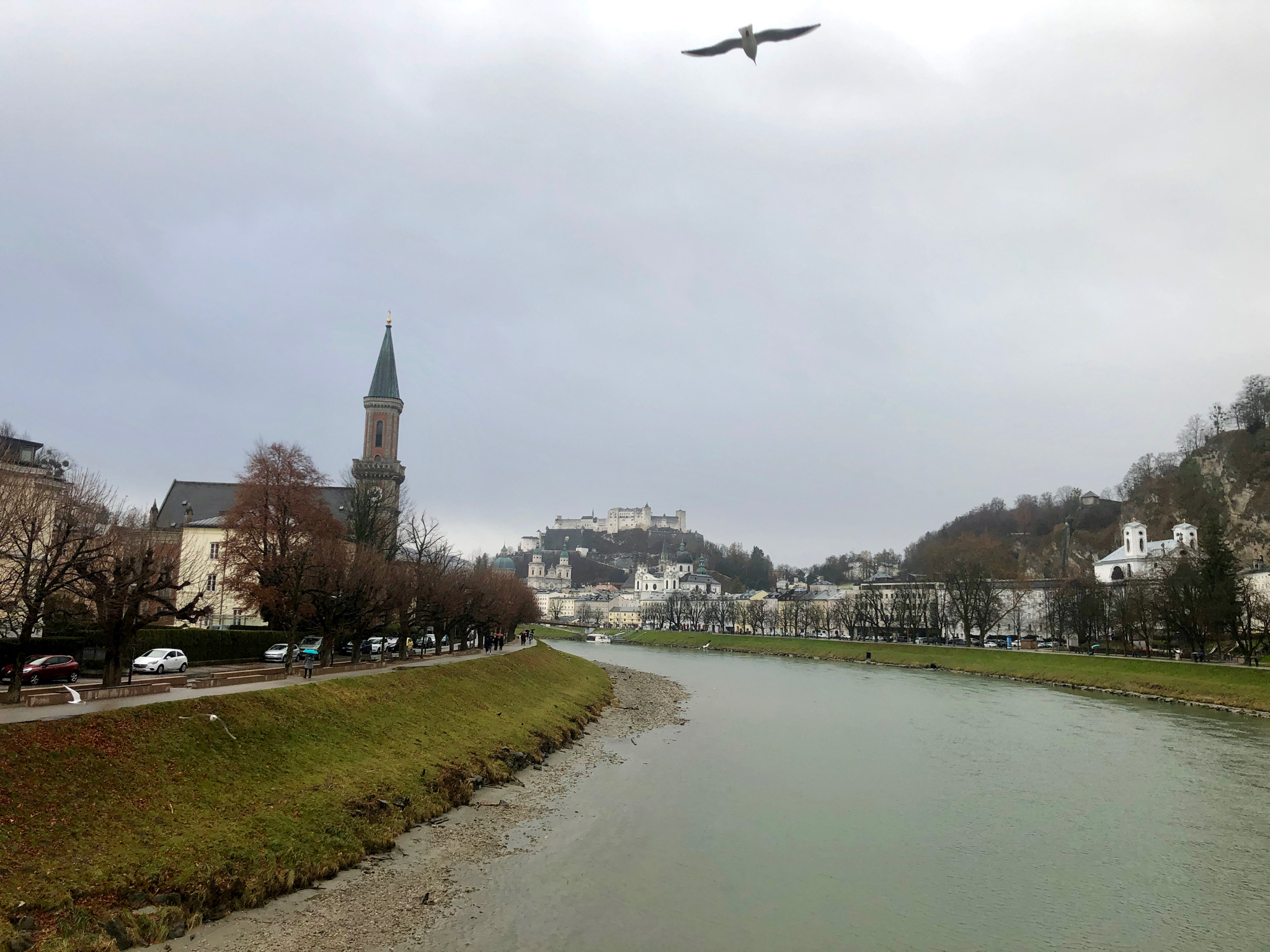 Salzburg with River