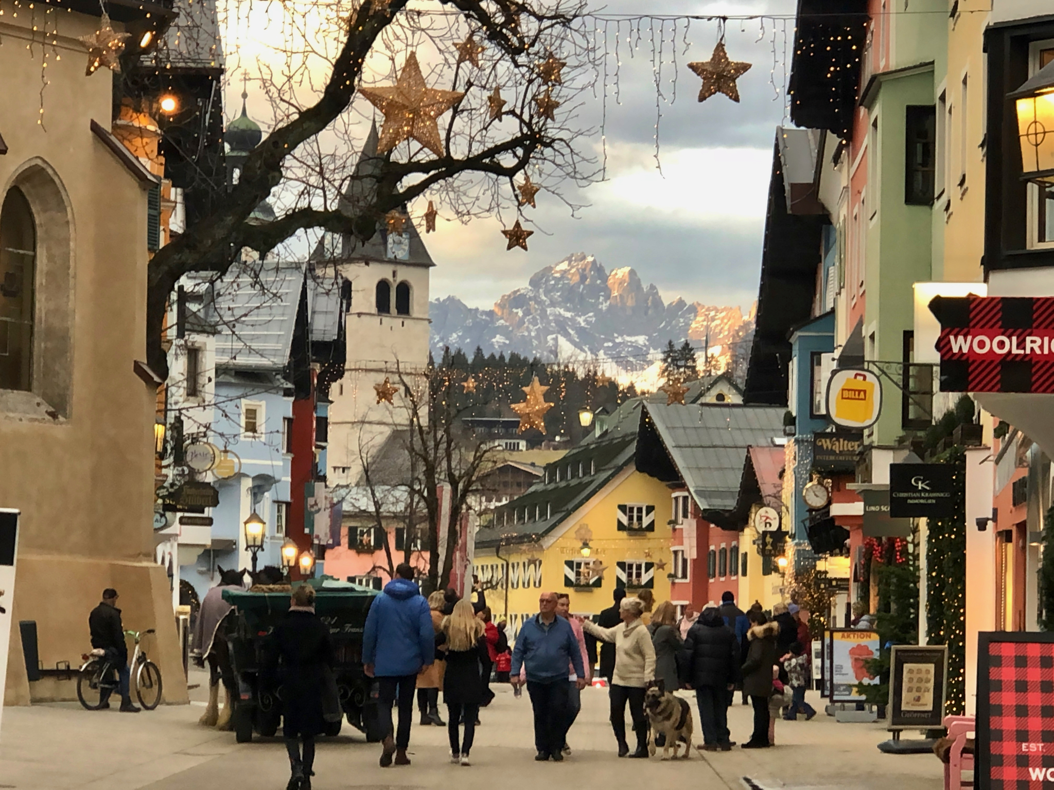Kitzbühel at Christmas