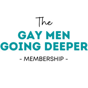 Gay Men Going Deeper Membership Portal
