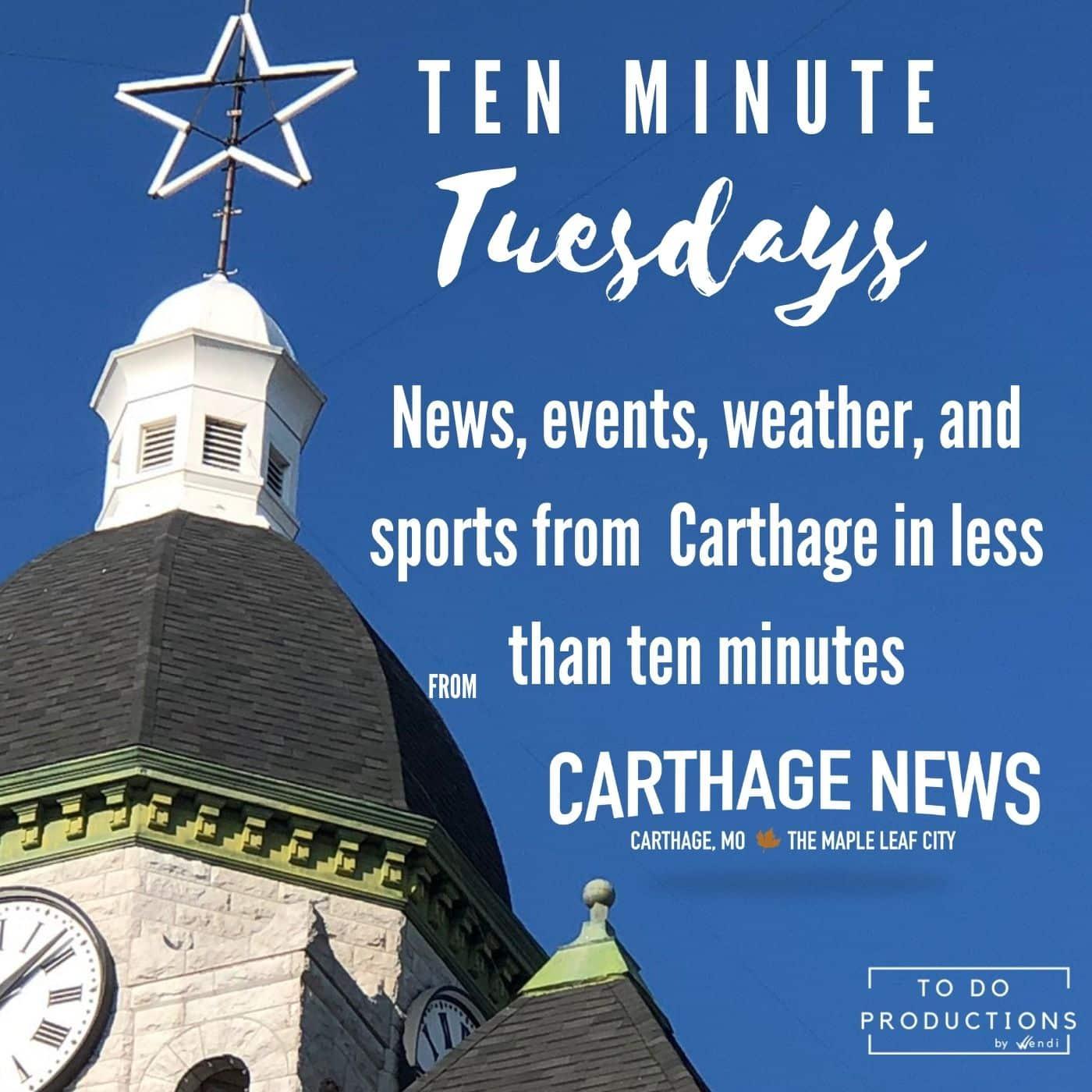 Carthage Missouri News Podcast