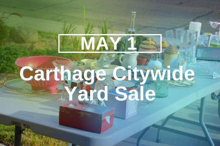 Carthage Citywide Yard Sale