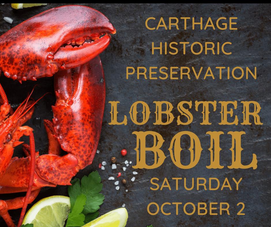 Carthage Lobster Boil