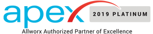 Apex 2019 Platinum Allworx Authorized Partner of Excellence