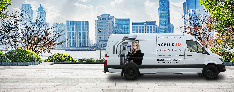 mobile 3d imaging CBCT van