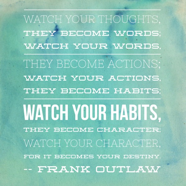 Watch Your Thoughts quote