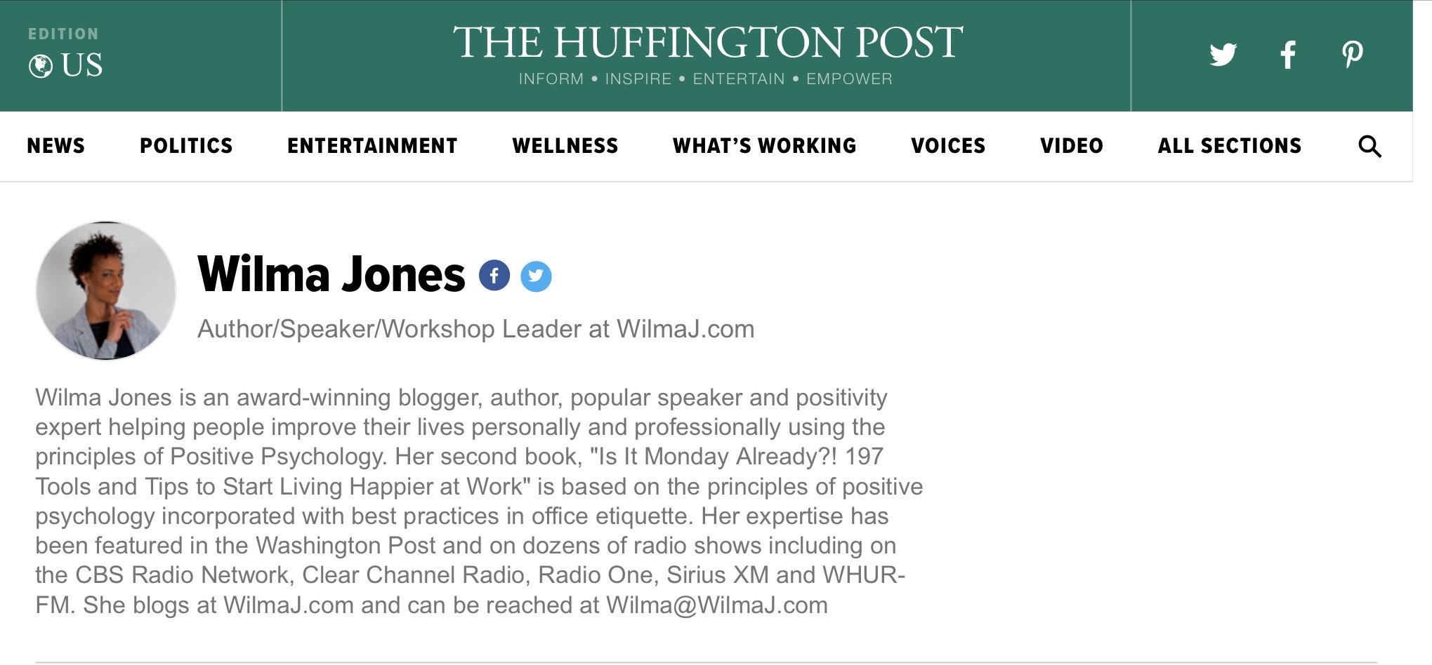 wilma jones huff post page link