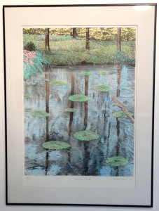 Lily Pads by Robert Finch
