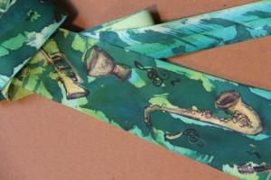 silk tie by Kathy Robinson