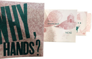 Why, Hands? is a hand-made book