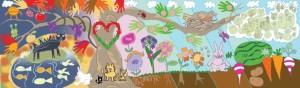 Make Art Grow Food Mural