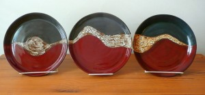 3 Plates by Jackie Clifton