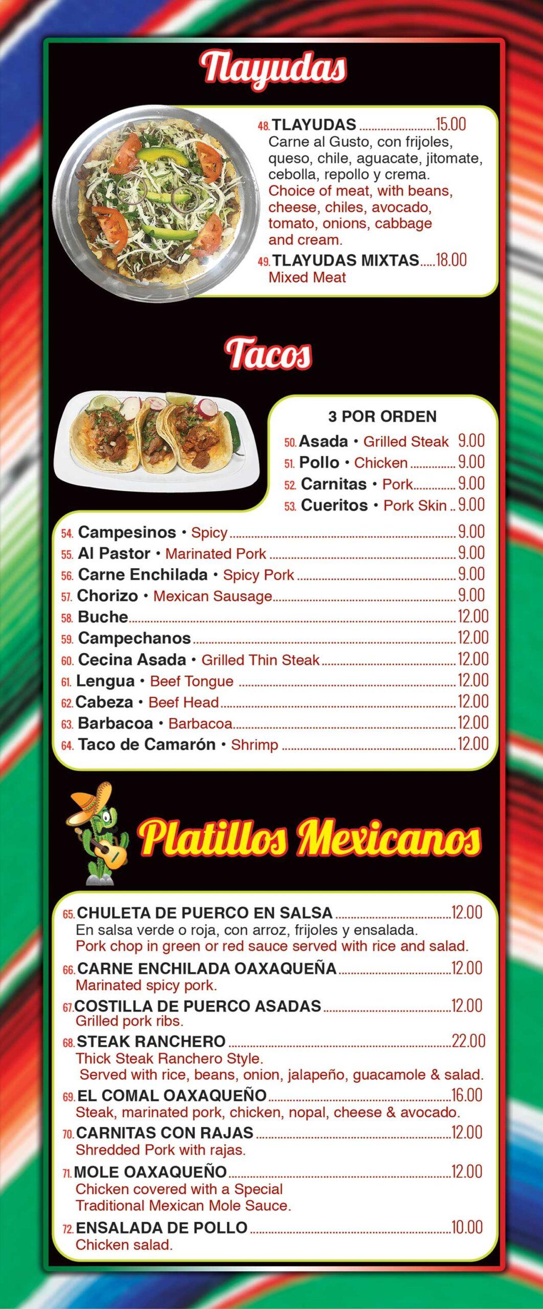 Taqueria-El-Oaxaqueno-Menu-Page-4