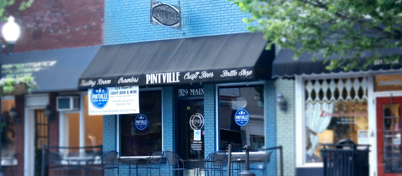 Craft Beer Charlotte, Pintville Craft Beet, Downtown Pineville NC