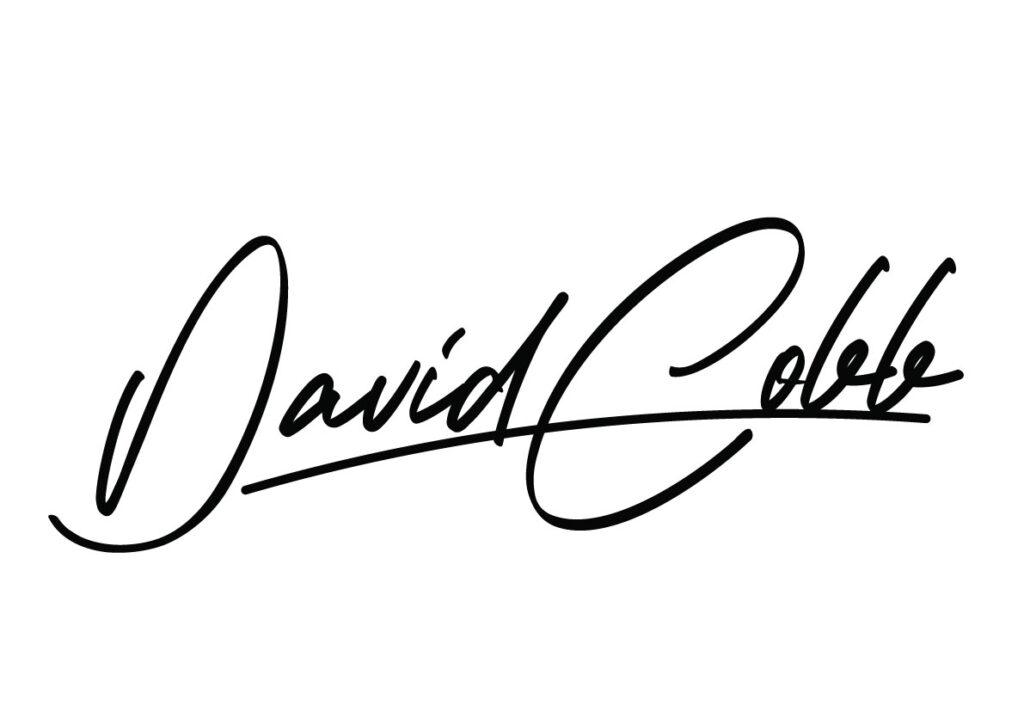 david cobb logo signature