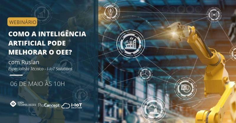 Webinário – Inteligência Artificial e OEE
