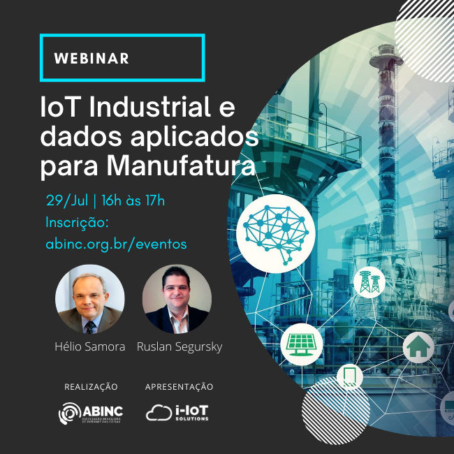 Webinar – IoT Industrial e Dados Aplicados Para a Manufatura