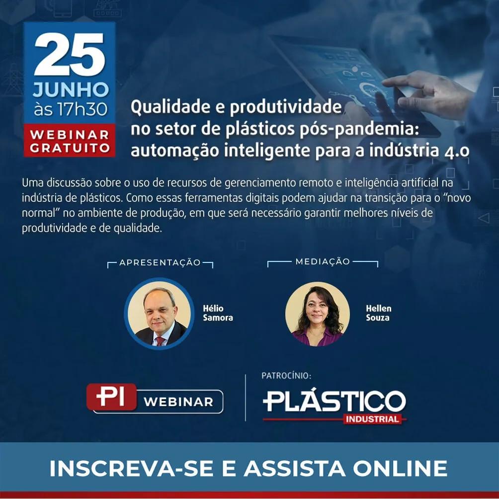 Webinar Qualidade e Produtividade no Setor Plastico Pós Pandemia