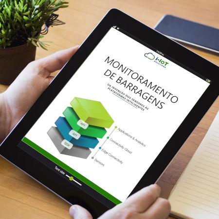 Monitoramento de barragens em e-book
