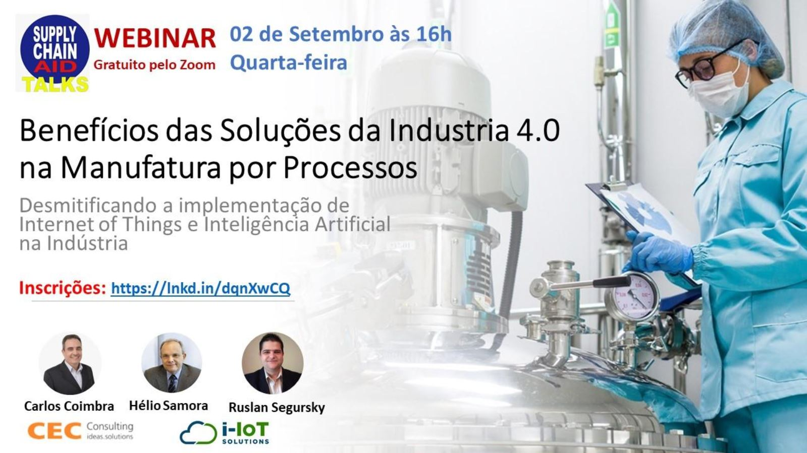 Benefícios das Soluções de Industria 4.0 para Manufatura por Processos