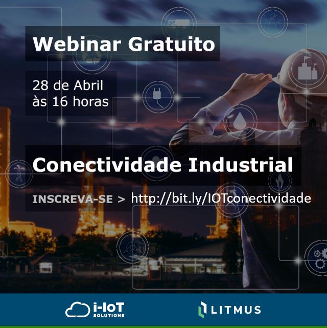 Conectividade industrial é tema de webinar