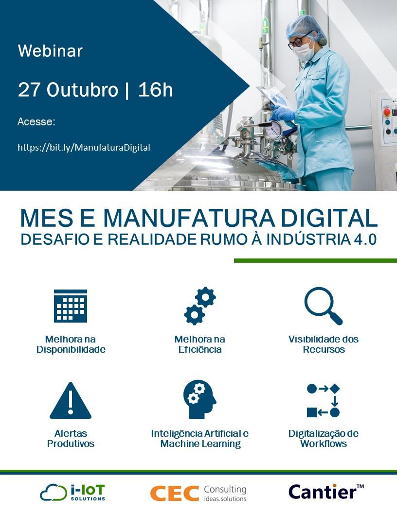 MES e Manufatura Digital – Desafio e realidade rumo à Indústria 4.0