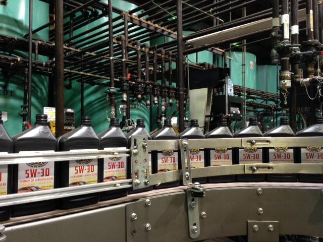 OG Bottles being filled