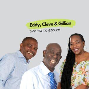 Three @ 3 – Caribbean Riddims (Eddy, Cleve & Gillian)