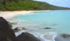 One of the many secluded St. John beaches