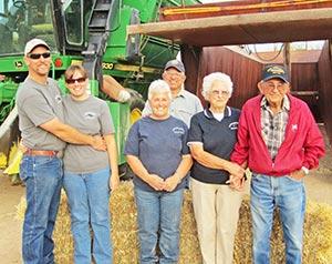caywood farm family
