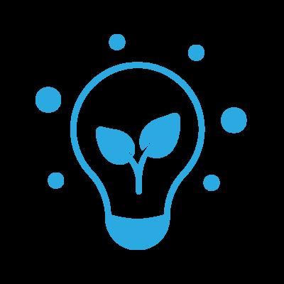 Environmental Comitment Blue Icon