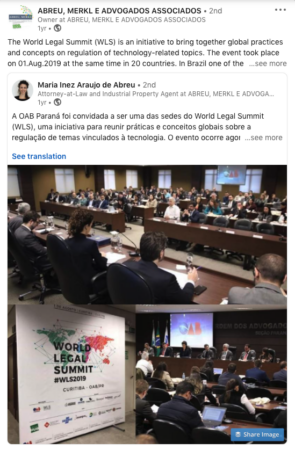 Curitiba, Brazil WLS 2019