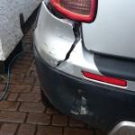Cracked Bumper