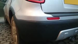 Cracked Bumper finished