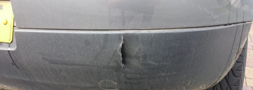 Plastic Bumper Crack