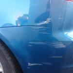 blue back wing damage