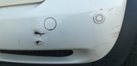White Bumper Split