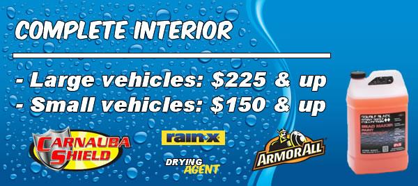 Complete Interior Pricing
