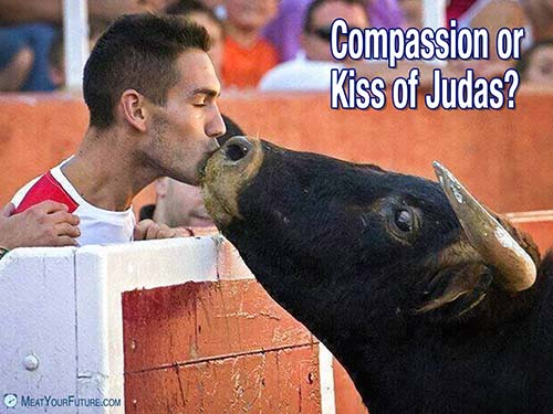 Compassion of Kiss of Judas   Meat Your Future