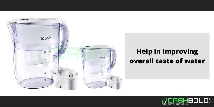 Levoit water filter pitcher coupon code