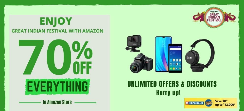 Amazon Great Indian Festival Sale Coupons